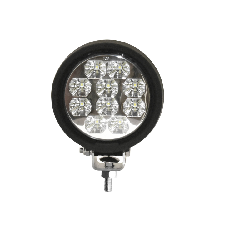 "123-81004F <BR />5"" Round L.E.D. Work Light – Flood"