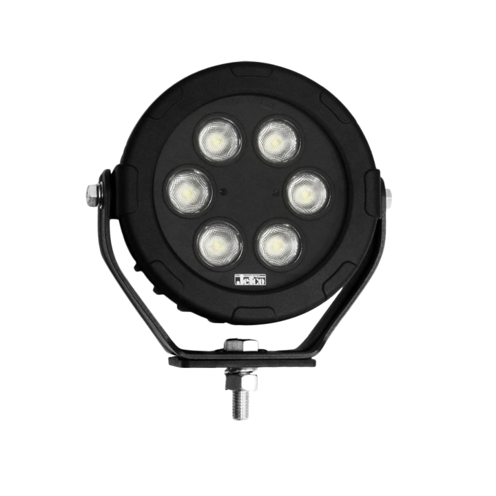 "123-81016F-8 <BR />6"" Round L.E.D. Work Light &#8211; Flood"