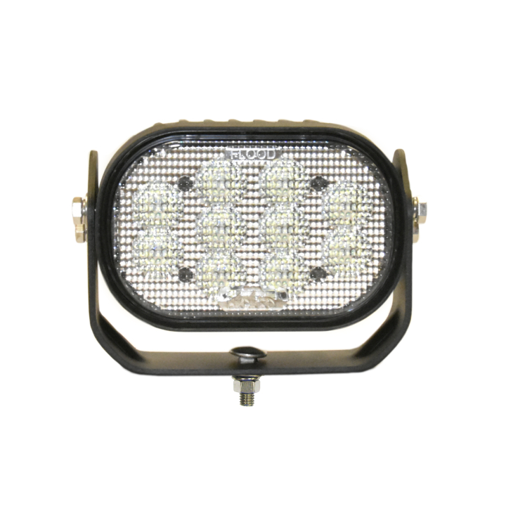 "123-81106F <BR />4""x 6"" Oval L.E.D. Work Light – Flood"