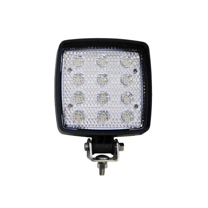 "123-LED63511 <BR />5""× 5"" L.E.D. Utility Work Light – Flood"