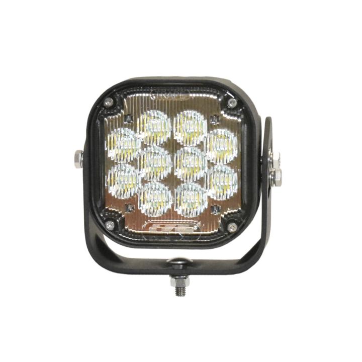 """123-LED95000T <BR />5""""x 5"""" H.D. L.E.D. Work Light – Trap"""