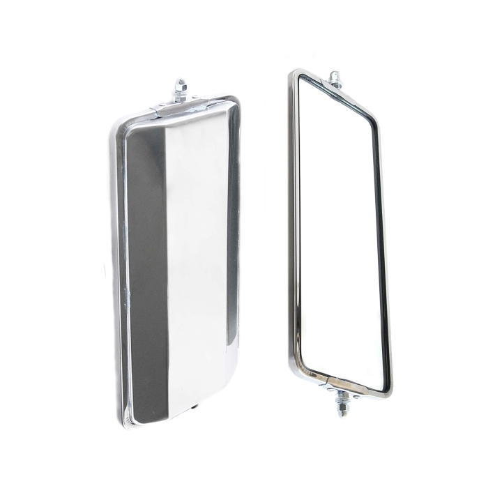 "124-6363 <BR />16"" × 7"" Heated West Coast Stainless Steel Mirror &#8211; Heat Only"