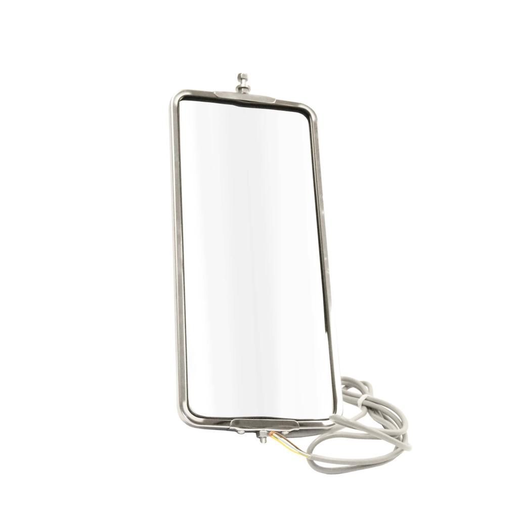 124-636416 u201d  u00d7 7 u201d heated west coast stainless steel mirror - heated w   light 124-6364
