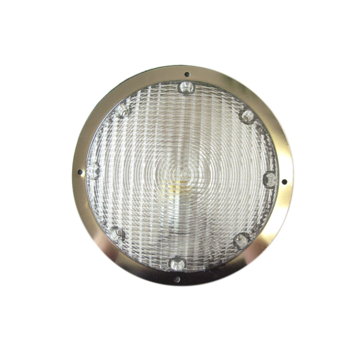 "127-LED66221 <BR /> 8.5"" Surface Mount L.E.D. Dome or Utility Light"