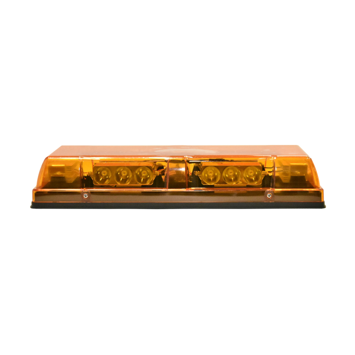 "126-67085A-8 <BR />6"" x 17&#8243; L.E.D. Amber Low Profile Warning Beacon Strobe"