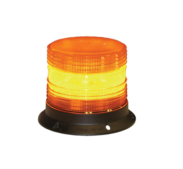 "126-67089A <BR />5"" H.D. L.E.D. Amber Warning Beacon Strobe"