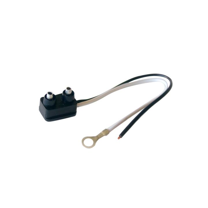 119-9122 <BR />Plug for Marker/Clearance Lights – Standard Right Angle 2-Prong Plug
