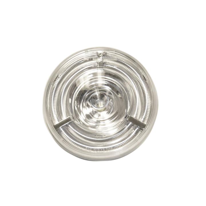 """127-40607W <BR /> 4"""" Round 3D Helix L.E.D. S/T/T Lights White"""