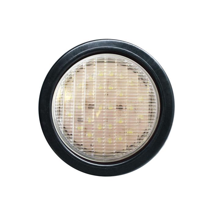 "127-43002KW (Kit)<BR /> 4"" Round ""Maximum CountTM"" L.E.D. Sealed Lamp &#8211; White"