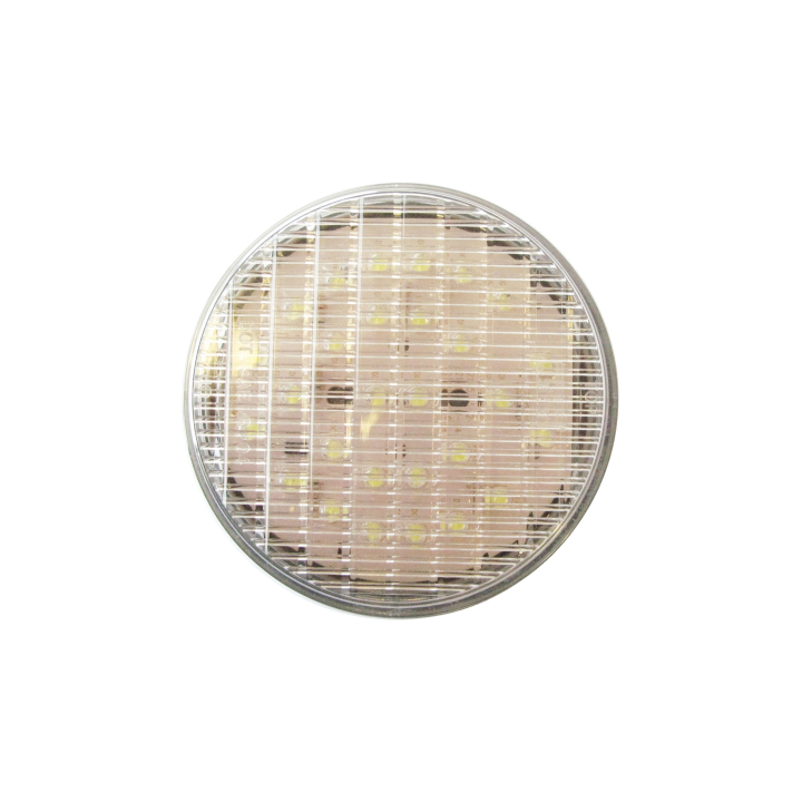 """127-43004W <BR /> 4"""" Round Reflectorized """"Maximum CountTM"""" L.E.D. Sealed S/T/T Lamp – White Backup"""