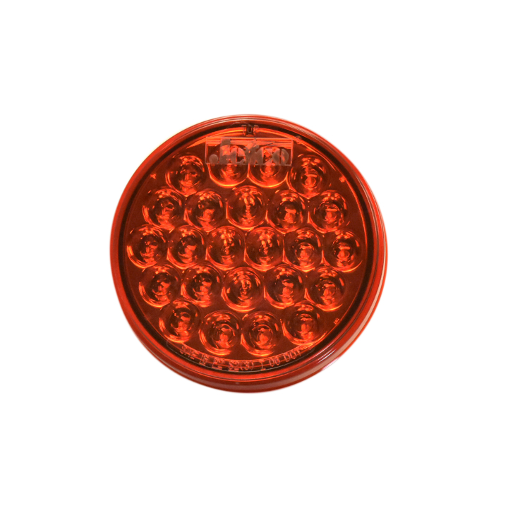 "127-44050R <BR /> 4"" Round ""Maximum CountTM"" L.E.D. Sealed Lamp – Red"