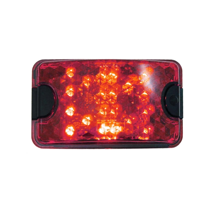 127 66055 Br 4 X 6 Rectangular Red L E D Sealed