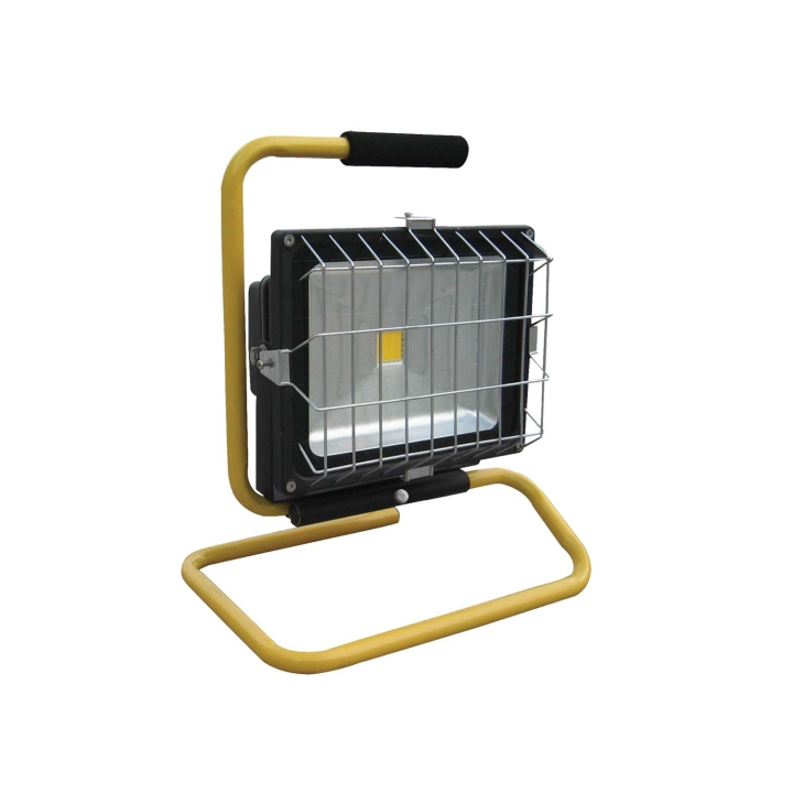 "129-60050BXW <BR /> 11""x 9"" 50 Watt Portable L.E.D. Scene Light"
