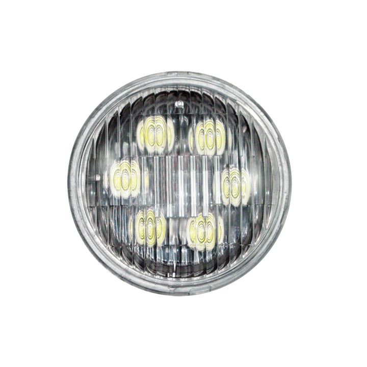 "130-LED4411-8 <BR /> 4.5"" PAR 36 L.E.D. Sealed Beam (Trapezoidal)"