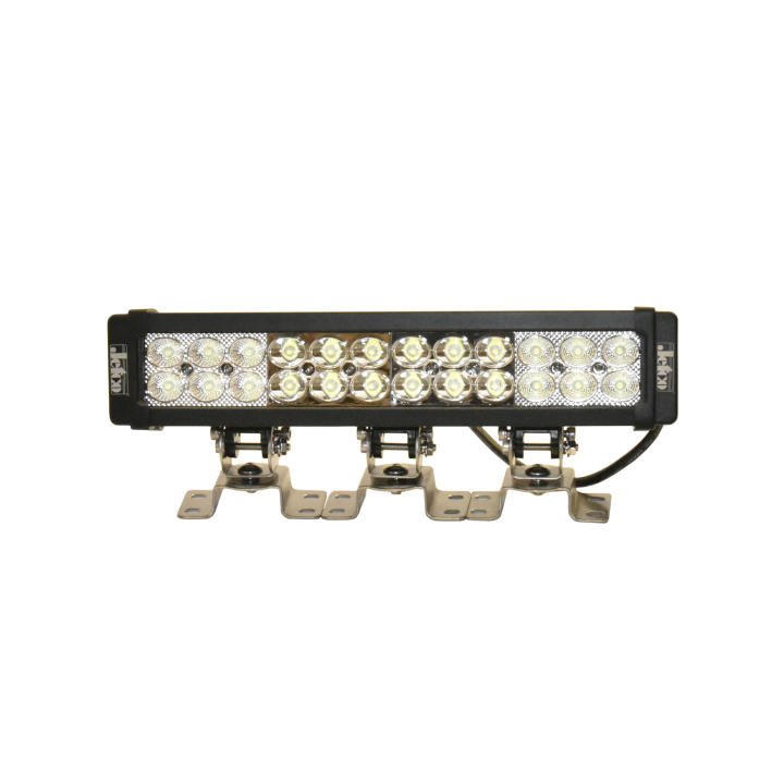 302-1572FS-8 <BR /> 15″ L.E.D. Straight Light Bar – Flood/Spot Combo