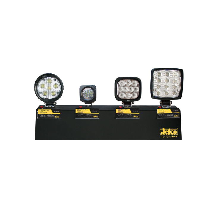 900-4WL-CDB <BR /> L.E.D. Worklight Countertop Display