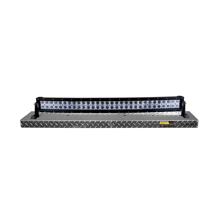 900-AL3-BD305 <BR /> 3' Black Diamond Curved Light Bar Display Shelf