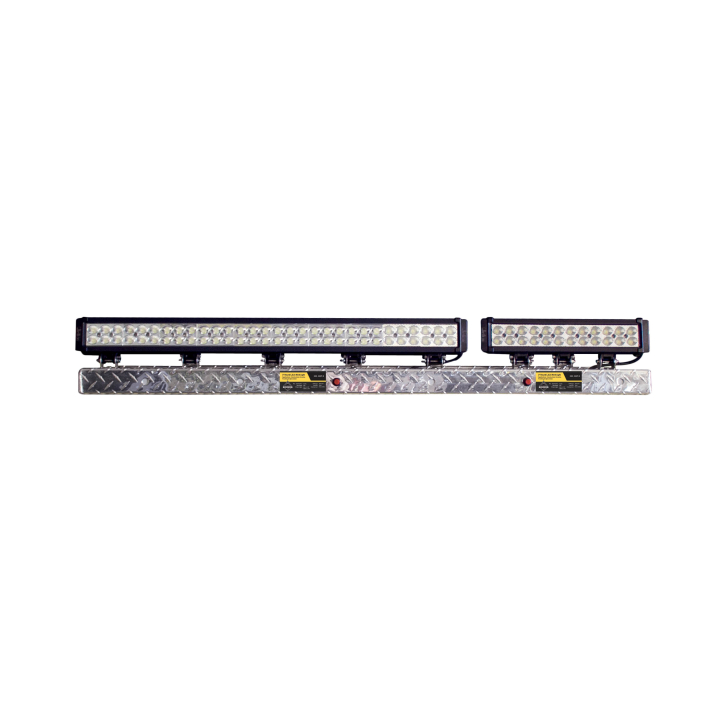 900-AL4-BD302 <BR /> 4' Black Diamond Bar Lighting Display Shelf