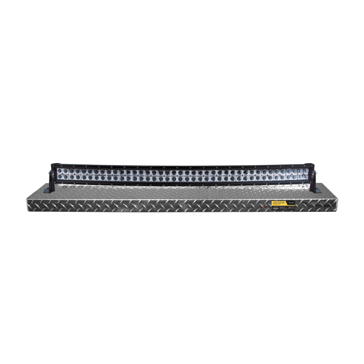 900-AL4-BD305 <BR /> 4' Black Diamond Curved Light Bar Display Shelf