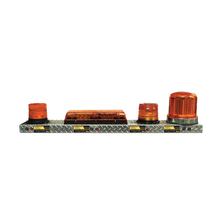 390-EM1 <BR /> 4' Emergency Lighting Display Shelf