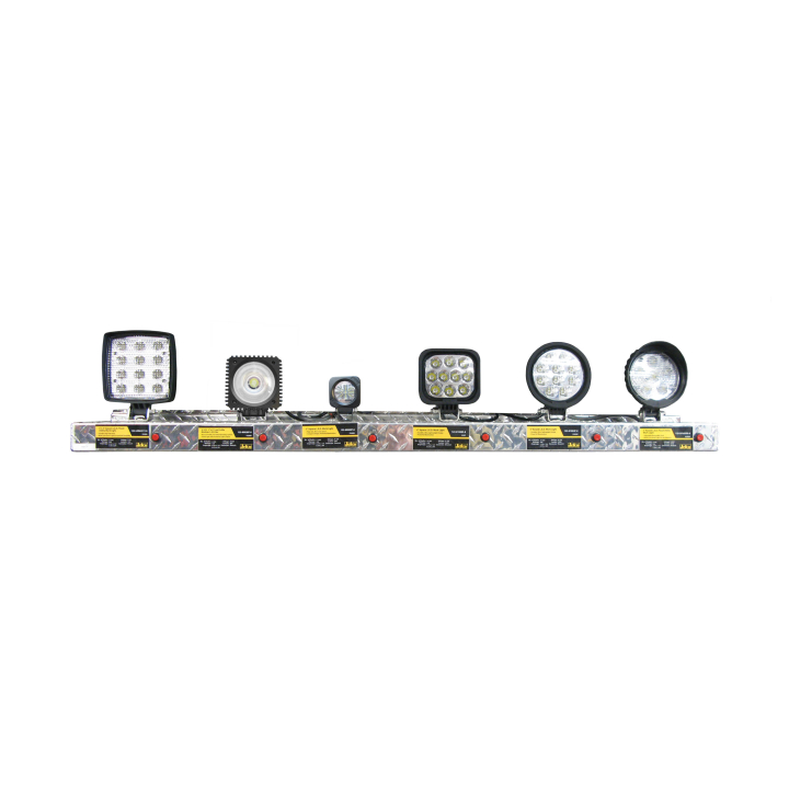 900-AL4-HDT <BR /> 4' Heavy Duty Trucking Lighting Display Shelf