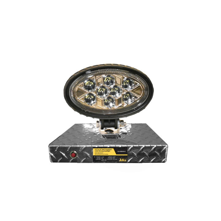 900-AL9-88044 <BR /> 9&#8243; L.E.D. DOT Driving Light Display Shelf