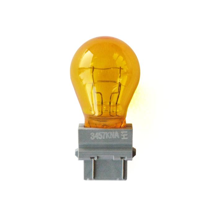 120-33-3457NALL  <BR /> #33-3457 Amber Long Life Miniature Bulb – S-8 Bulb