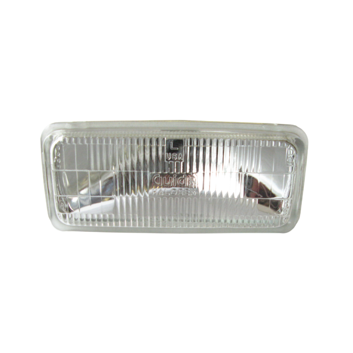 120-H4351 <BR />64mm × 140mm Halogen Sealed Beam (Headlight-Low Beam)