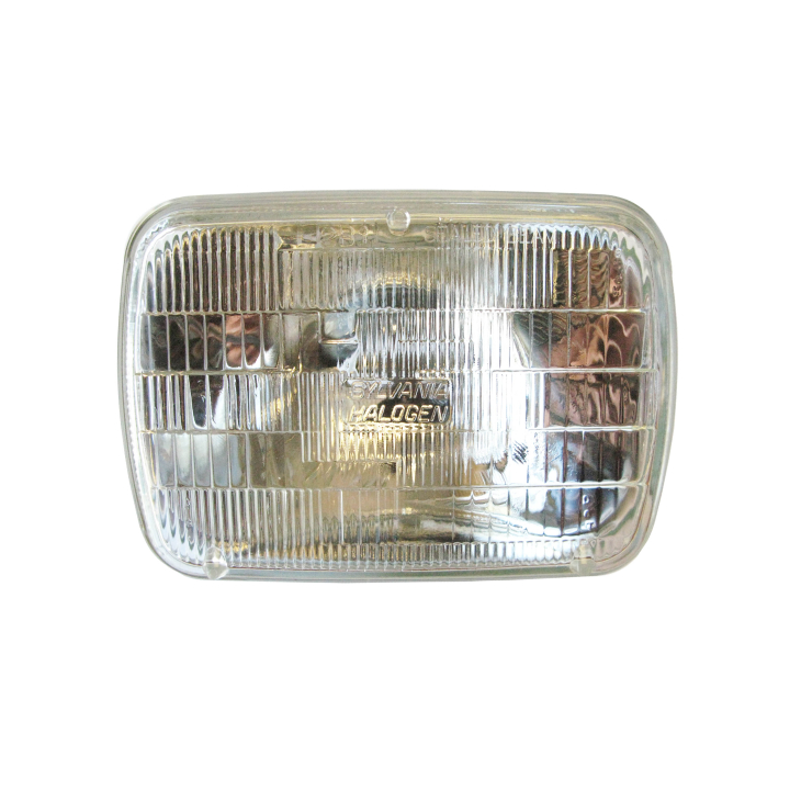 "120-H6054CB <BR />142mm × 200mm Sealed Beam (Headlight-High/Low Beam) –  ""Super Blue"""