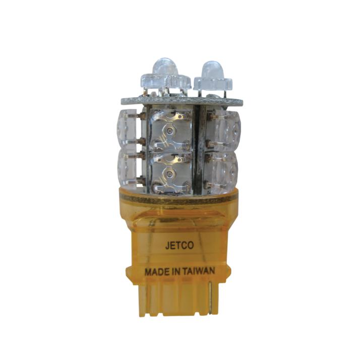 121-LED3156A <BR />L.E.D. #3156 Amber Miniature Bulb