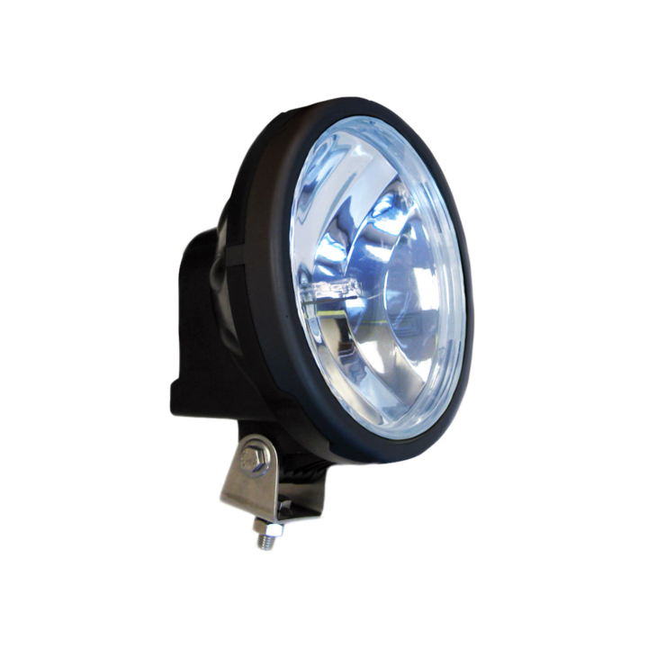 123-33222XW <BR />7″ Round H.I.D. Xtra-White Driving Light
