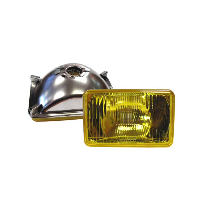 "123-4651A-3 <BR />4"" × 6"" Semi-Sealed Beam – Amber Fog"