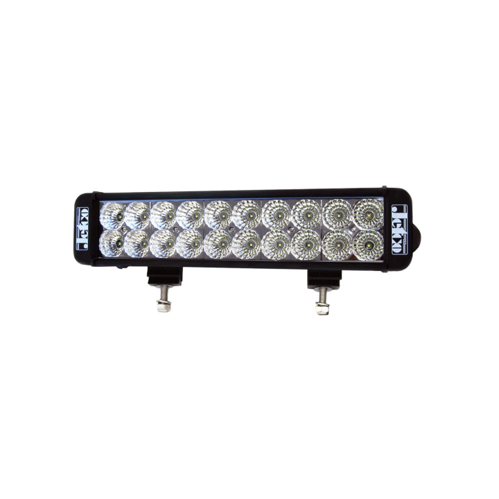 123-80024F-8<BR /> 12″ Low Profile L.E.D. Double Light Bar – Flood