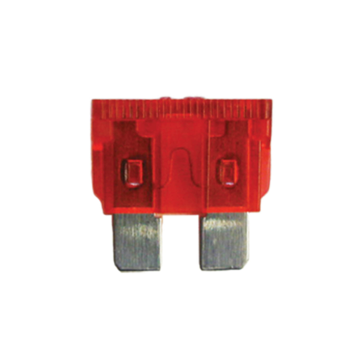 125-ATQ-10 <BR />32VDC Automotive Blade Style Fuses – 10 Amp