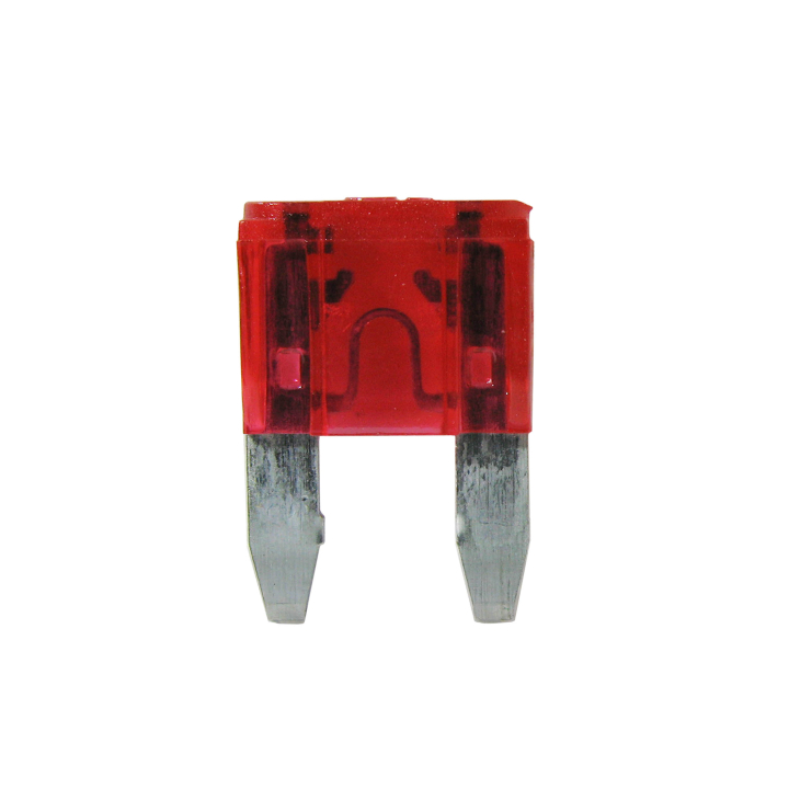 125-MIN-10 <BR />32VDC Mini Automotive Blade Style Fuses – 10 Amp