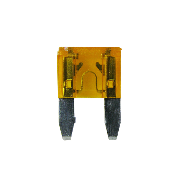 125-MIN-5 <BR /> 32VDC Mini Automotive Blade Style Fuses – 5 Amp