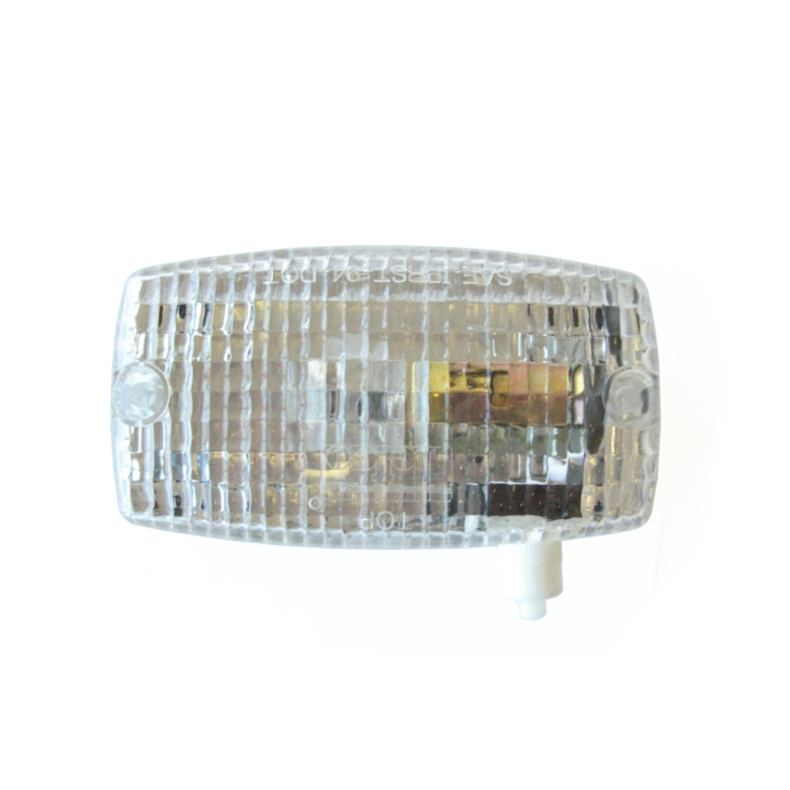 126-66549 <BR />2.5″x 5″ Interior Dome Light with Switch