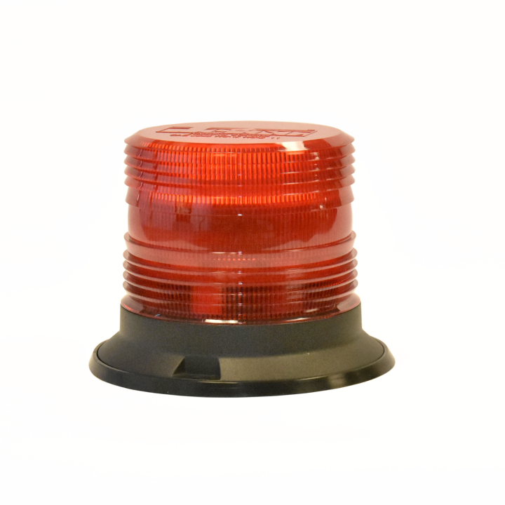 "126-67089R-8 <BR />5"" H.D. L.E.D. Red Warning Beacon Strobe"