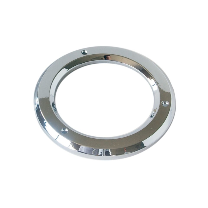 "126-9125 <BR />4"" Chrome Bezel / Grommet Cover"
