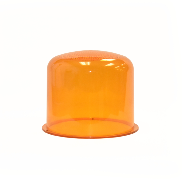 126-L67024A <BR />Amber Replacement Lens For 126-67024 Series