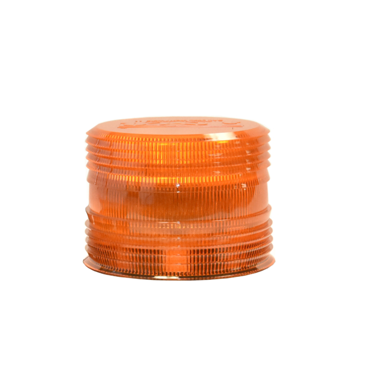126-L67089A <BR />Amber Replacement Lens For 126-67089 Series Strobe