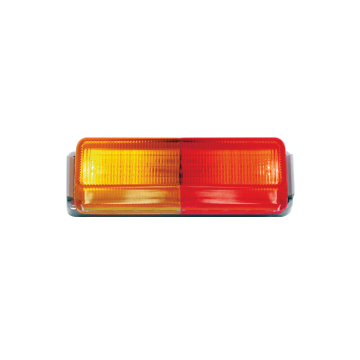 "127-19000ARKT <BR /> 1"" x 4"" Rectangular L.E.D. Sealed Marker Lamp Kit – Red/Amber Kit"