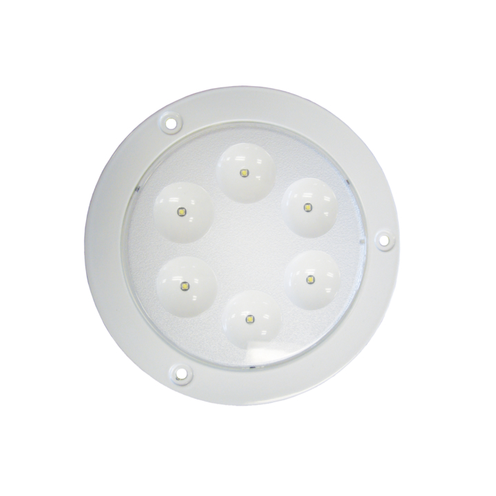 "127-99107-8 <BR /> 7"" L.E.D. Dome Interior Light"