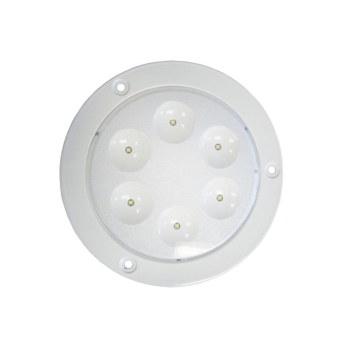 """127-99107 <BR /> 7"""" L.E.D. Dome Interior Light"""