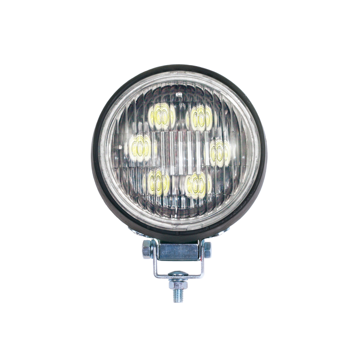 "128-50LED4411 <BR /> 5"" Round (PAR 36) L.E.D. Work Light in Rubber Housing"