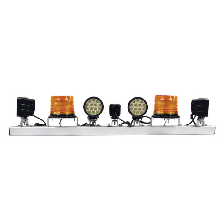 """128-77113C <BR /> 48"""" Heavy Duty Warning System Light Bar"""