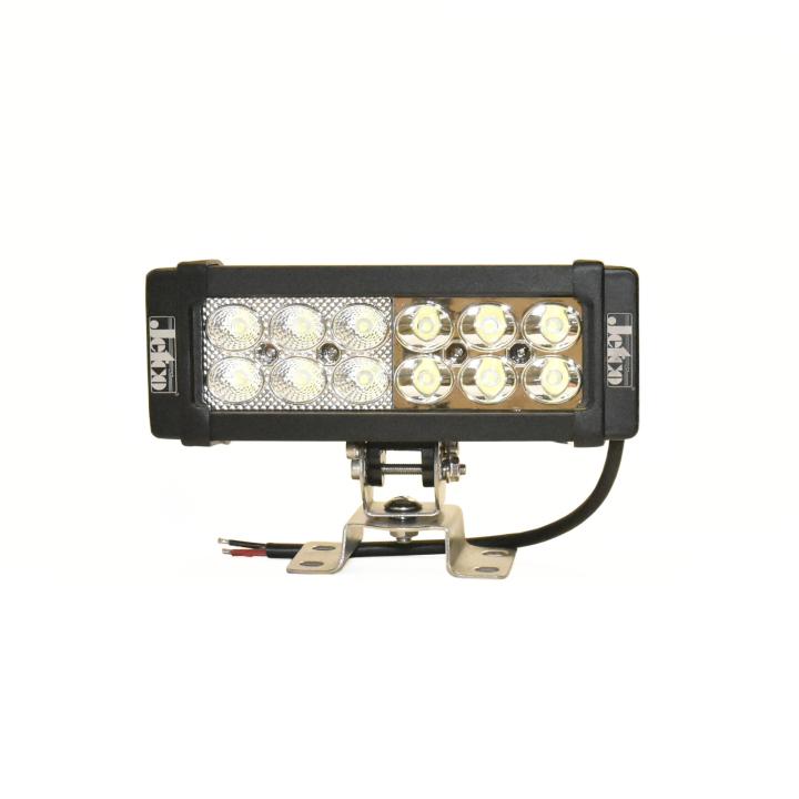 302-836FS <BR /> 8″ L.E.D. Straight Light Bar – Flood/Spot Combo