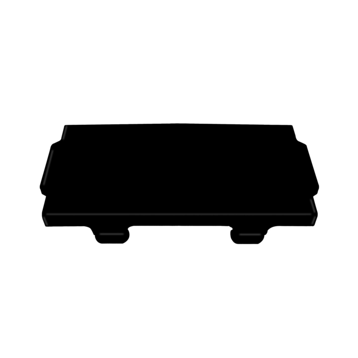 302-C73BK <BR /> Black 302 Series Light Bar Cover