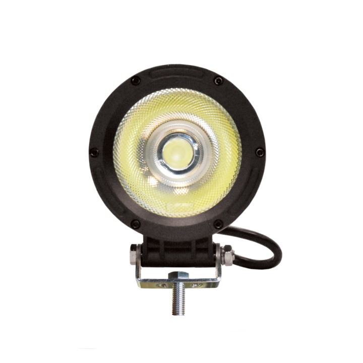 "300-1500F-8 <BR /> 5"" Round L.E.D. Single Diode COB Light – Flood"
