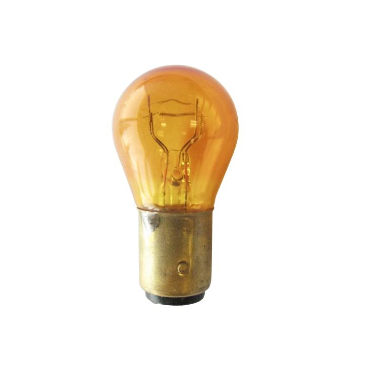 120-2057NA  <BR /> #2057 Natural Amber Miniature Bulb – S-8 Bulb